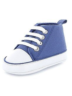 Niña 0-36 meses Zapatillas altas de tela