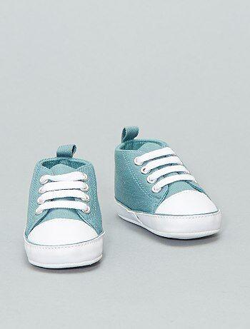 fde86a584 Zapatillas altas de tela - Kiabi