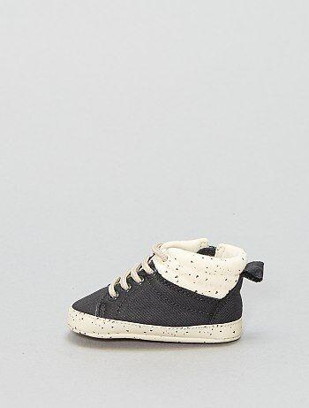 Niño 0-36 meses - Zapatillas altas de tela - Kiabi