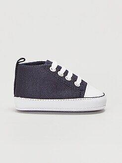 Niña 0-24 meses Zapatillas altas de tela