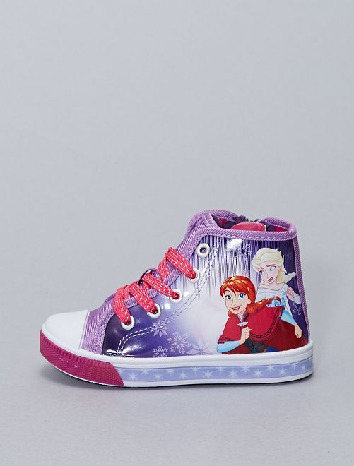 Zapatillas altas 'Frozen'                             PURPURA