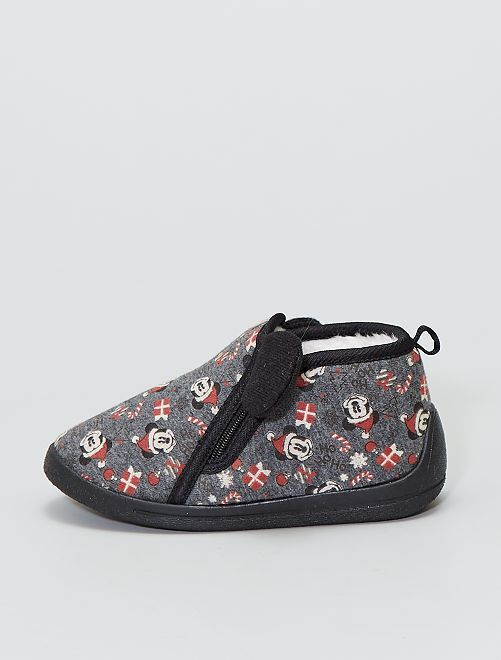 Zapatillas altas 'Mickey Mouse' de 'Disney'                             gris