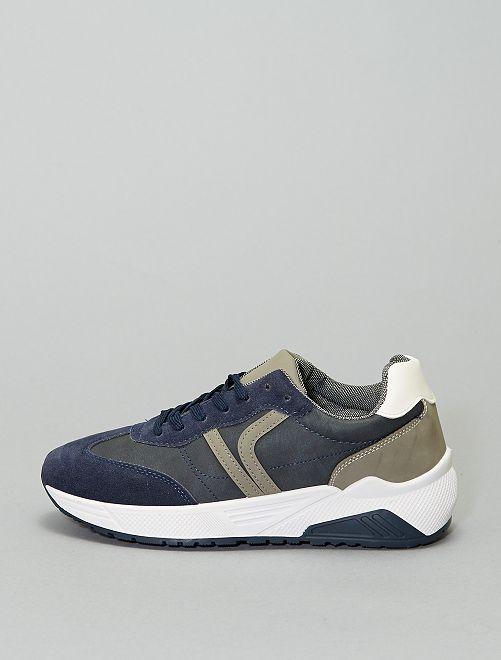Zapatillas                             azul navy