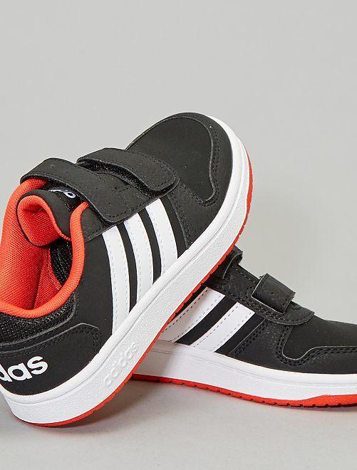 Zapatillas bajas 'Adidas hoops'                                         NEGRO