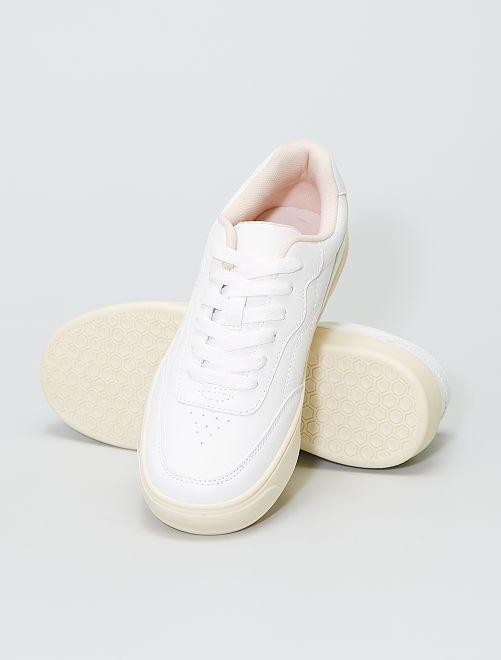 Zapatillas bajas                             blanco