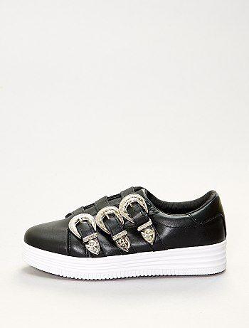 Zapatillas bajas con hebillas - Kiabi