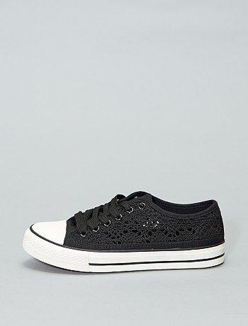 0463febf Zapatillas tela mujer | Kiabi | La moda a pequeños precios
