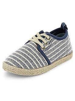 Zapatos, zapatillas - Zapatillas bajas estilo alpargatas - Kiabi