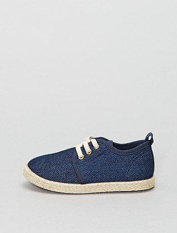 Zapatillas bajas estilo alpargatas - Kiabi