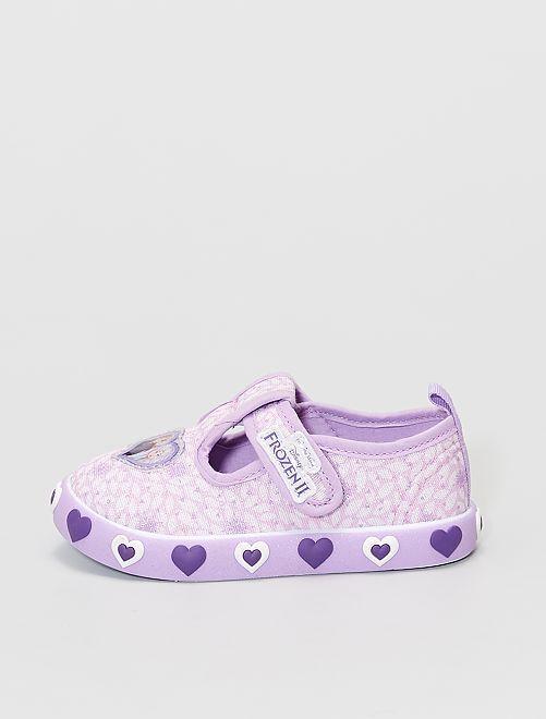 Zapatillas bajas 'Minnie' de 'Disney' con velcros                             PURPURA