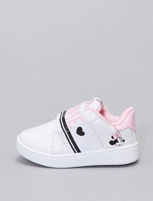 Zapatillas bajas 'Minnie Mouse' 'Disney' sin cordones                             blanco