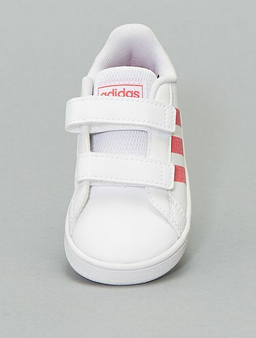 Zapatillas brillantes 'Adidas'                             BLANCO