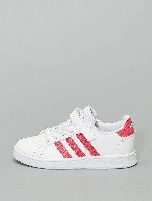 Zapatillas brillantes 'Adidas'                             BLANCO