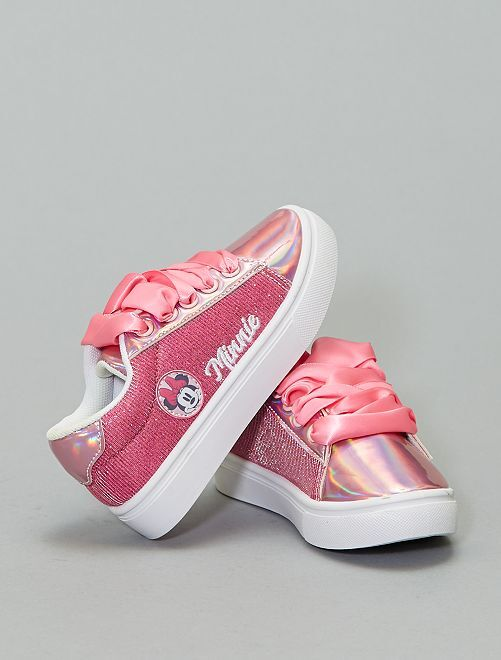 Zapatillas brillantes 'Minnie'                             ROSA