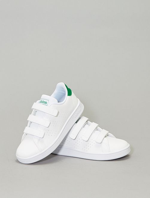 Zapatillas con velcro 'Adidas Advantage C'                             BLANCO Chico