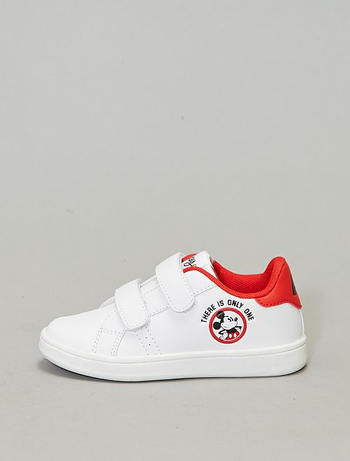 Zapatillas con velcro 'Mickey'                             blanco