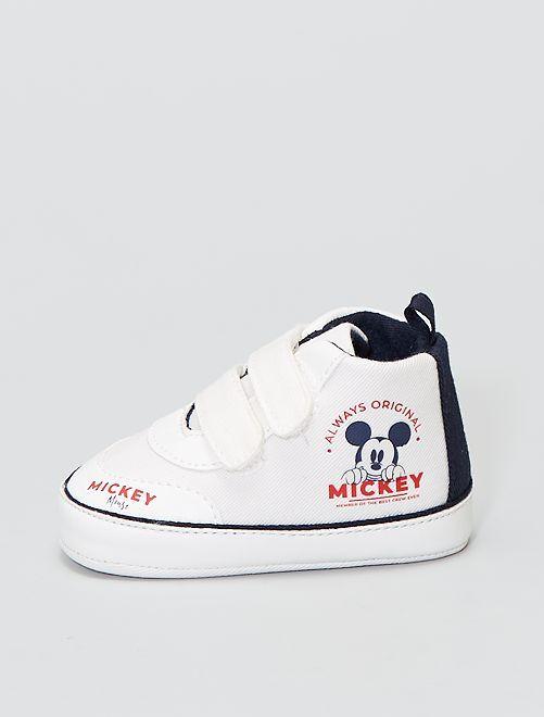 Zapatillas con velcro 'Mickey Mouse' de 'Disney'                                         BLANCO