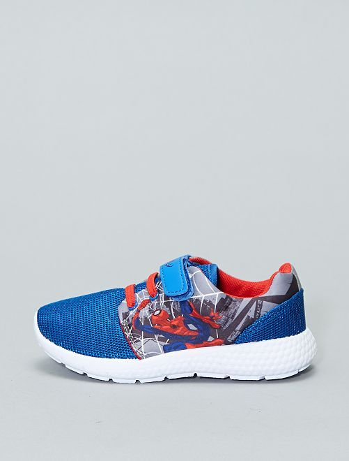 Zapatillas con velcro 39 spider man 39 de 39 marvel 39 zapatos - Zapatillas casa marvel ...