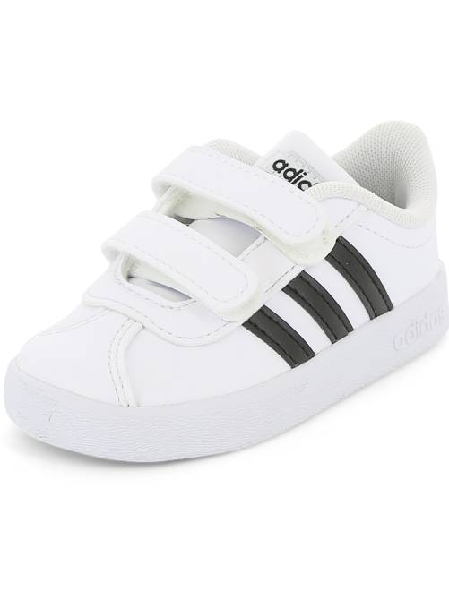 Zapatillas con velcros 'Adidas  VL COURT 2 CMF'                                                                 blanco Bebé niño