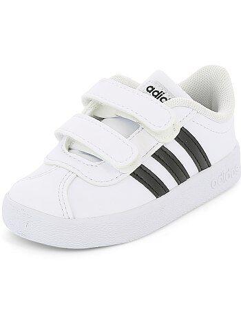 Niño 3-12 años - Zapatillas con velcros 'Adidas VL COURT 2 CMF' - Kiabi