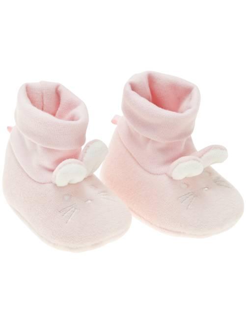 Zapatillas 'conejo'                                                     rosa Bebé niña