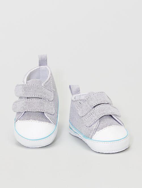 Zapatillas de algodón                             gris