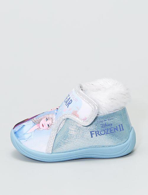 Zapatillas de casa altas 'Frozen'                             azul celeste