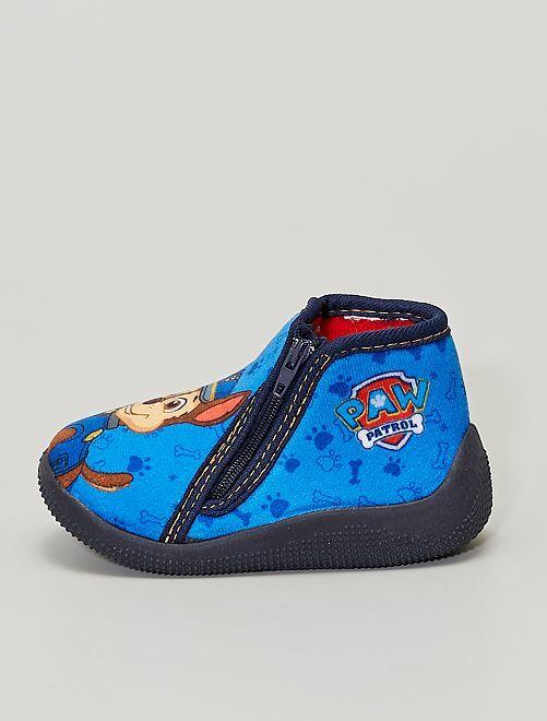 Zapatillas de casa altas 'La Patrulla Canina'                             azul