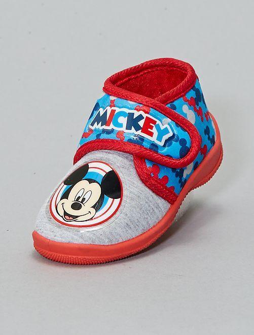 Zapatillas de casa altas 'Mickey'                             gris