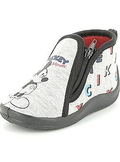 Zapatillas de casa altas 'Mickey'