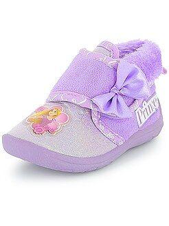 Zapatillas de casa altas 'Princesas Disney' - Kiabi