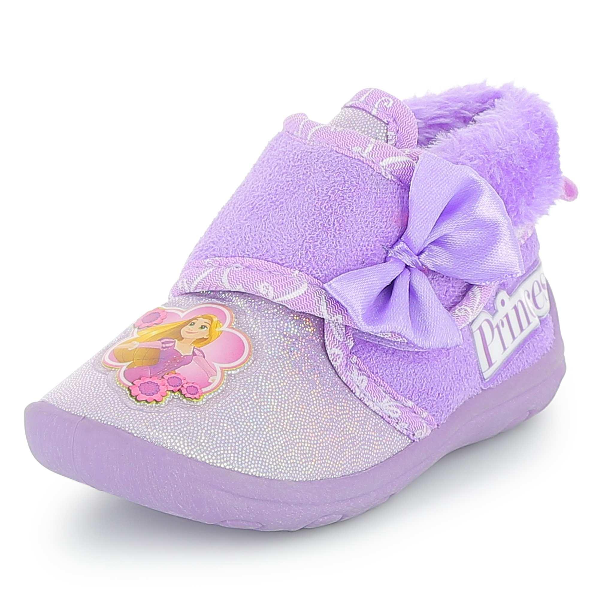 Zapatillas de casa altas 39 princesas disney 39 beb ni a purpura kiabi 10 00 - Zapatillas para casa ...