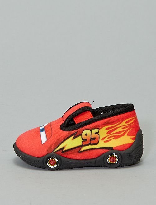 Zapatillas de casa bajas 'Cars'                             rojo