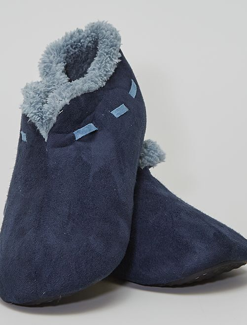 Zapatillas de casa cómodas                                                                 azul