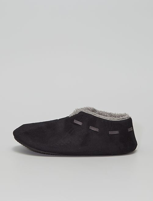 Zapatillas de casa cómodas                                                                 negro