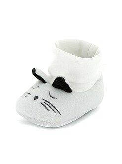 Zapatillas de casa con cabeza de animal