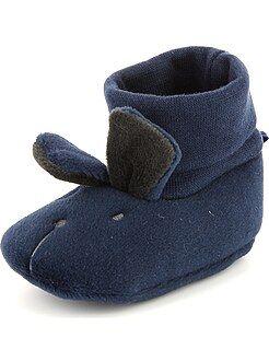 Niño 0-24 meses Zapatillas de casa con cabeza de animal