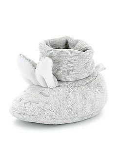 Zapatillas de casa con cabeza de conejo - Kiabi