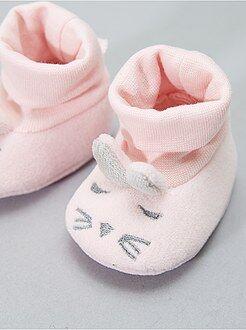 Zapatillas de casa con cabeza de conejo