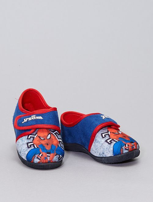 Zapatillas de casa con luz 'Spider-Man'                             azul