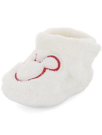 Zapatillas de casa de peluche 'Mickey' - Kiabi
