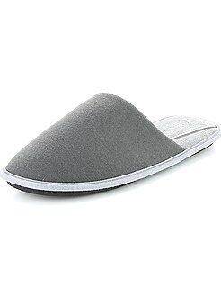Hombre - Zapatillas de casa de punto - Kiabi