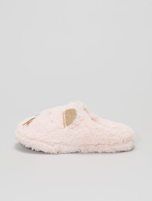 Zapatillas de casa de ratón                                         rosa