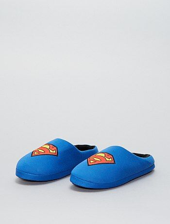 Zapatillas de casa destalonadas 'Superman' 'DC Comics' - Kiabi