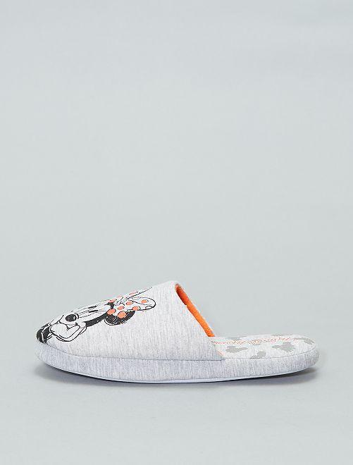 Zapatillas de casa 'Disney'                             gris Zapatos