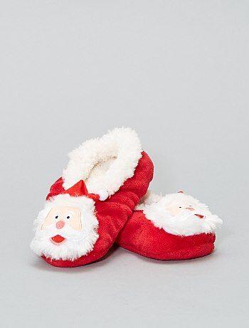 Zapatillas de casa forradas de Navidad - Kiabi