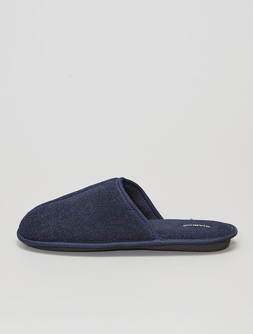 Zapatillas de casa hombre                                         azul navy