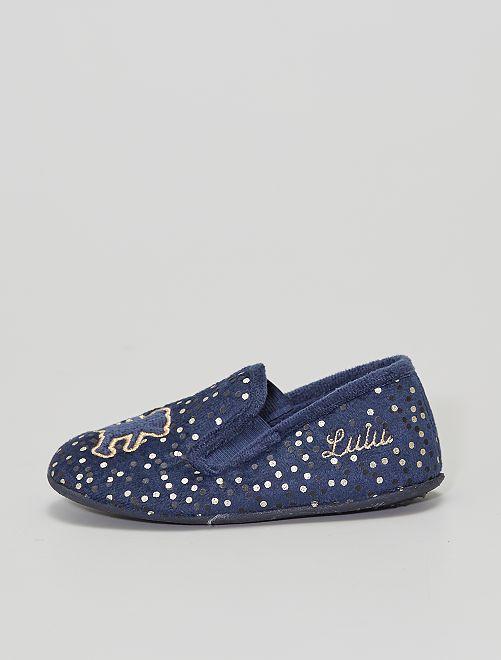 Zapatillas de casa 'Lulu Castagnette'                             AZUL