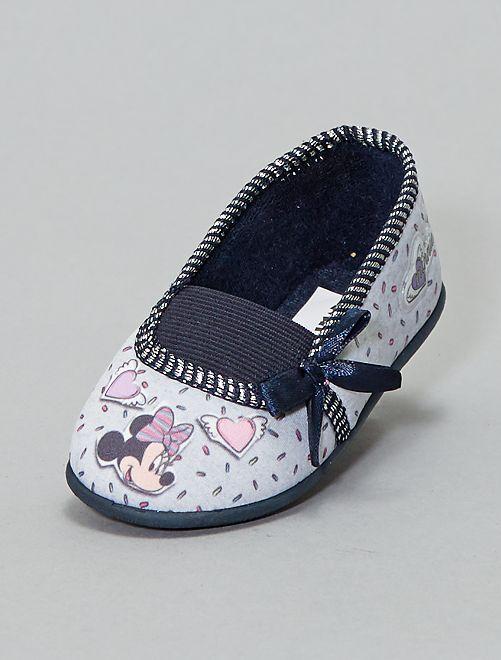 Zapatillas de casa 'Minnie'                                         AZUL