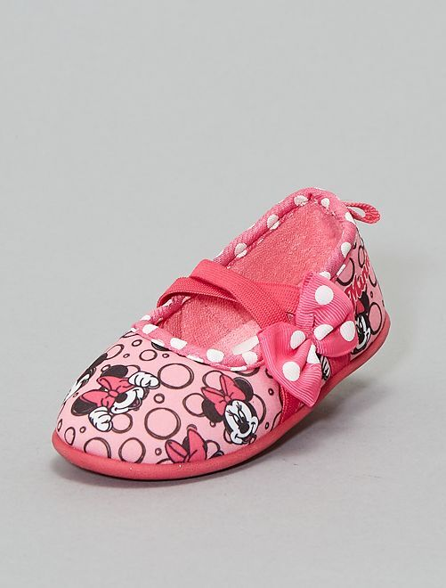 Zapatillas de casa 'Minnie'                                         rosa